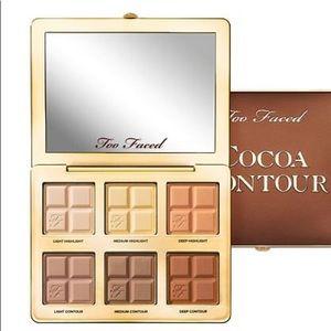 Too Faced Cocoa Contour Contour Highlight Palette
